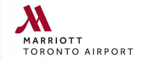 This hotel is part of the Marriott chain, located right next to Toronto Pearson International Airport.